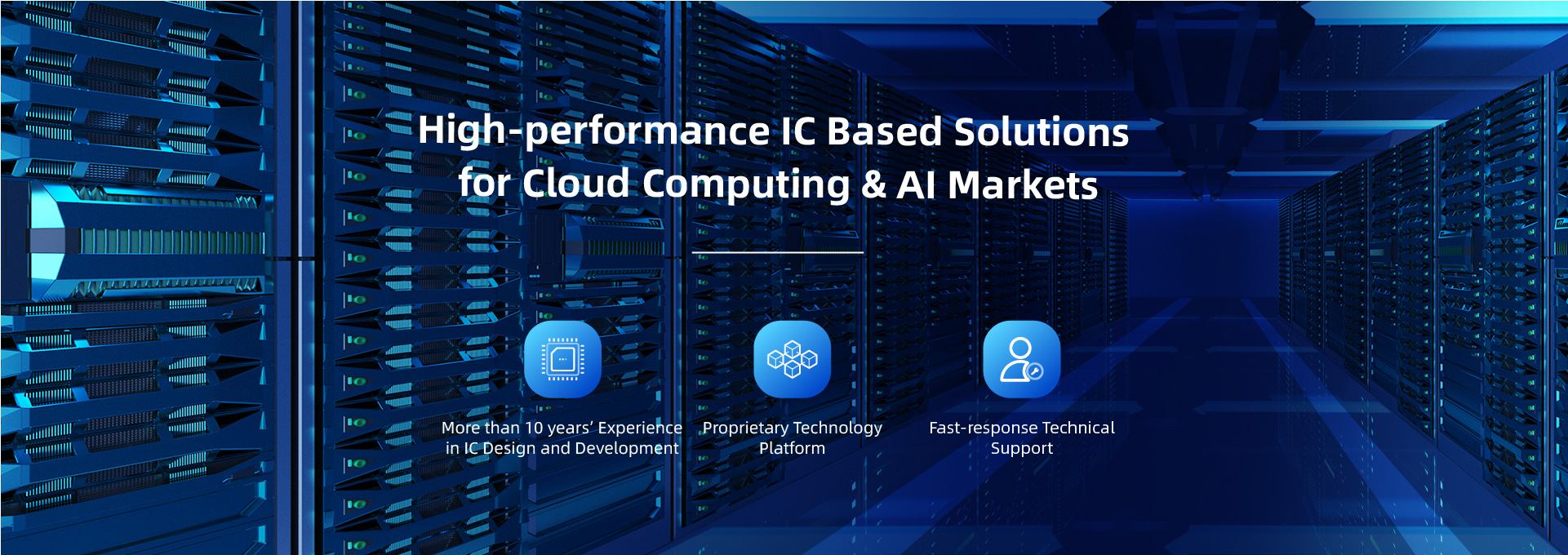 IC based solution vendor